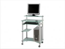 Стеклянный компьютерный стол СТ-29-02