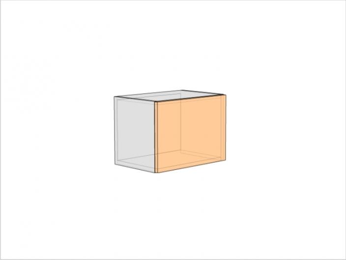 Шкаф кухонный ШКК-360-500-1ДГ (РАДУГА)