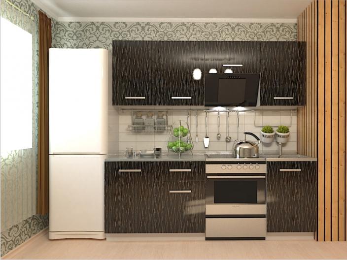 Кухонный гарнитур РАДУГА-2100 (Фасад МДФ
