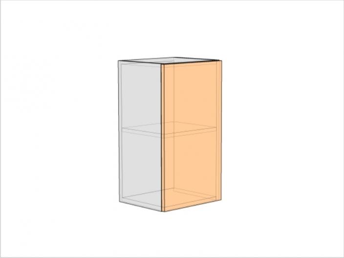 Шкаф кухонный ШКК-720-400-1ДГ (РАДУГА)