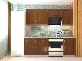 Кухонный гарнитур РАДУГА-2100 (Фасад МДФ филенка Ф3, 4 расцветки)