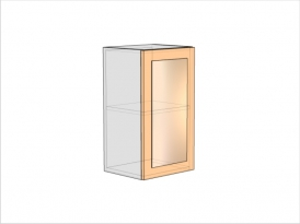 Шкаф кухонный ШКК-720-400-1ДО (РАДУГА)