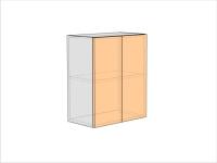 Шкаф кухонный ШКК-720-600-2ДГ (РАДУГА)