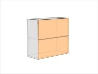 Шкаф кухонный ШККП-720-800-2ДГ (РАДУГА)