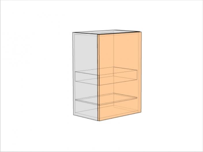 Шкаф кухонный под сушку ШККС-720-500-1ДГ (РАДУГА)