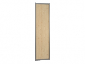 ДК-01-600 дверь шкафа-купе ЛДСП 600х10х2200/2400мм (клен)