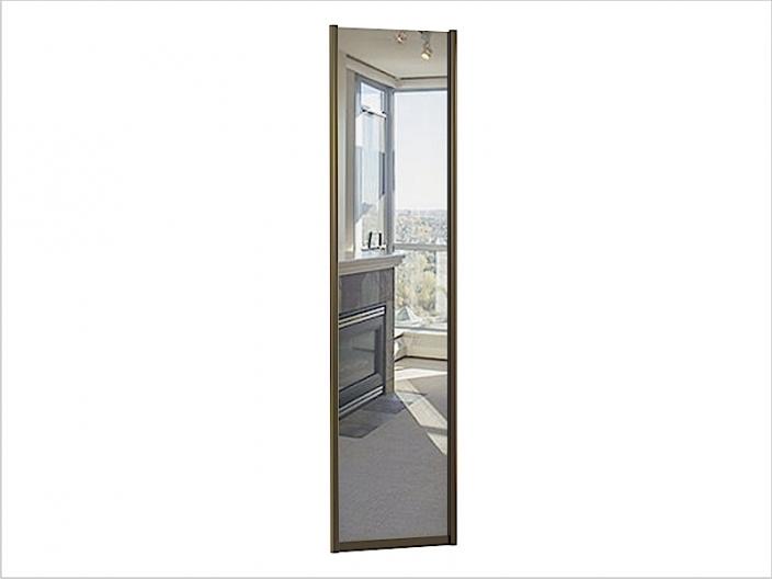 ДК-01-600 дверь шкафа-купе ЗЕРКАЛО 600х10х2200/2400мм