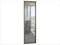 ДК-01-700 дверь шкафа-купе ЗЕРКАЛО 700х10х2200/2400мм