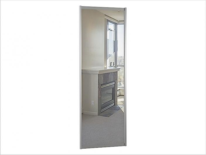 ДК-01-800 дверь шкафа-купе ЗЕРКАЛО 800х10х2200/2400мм