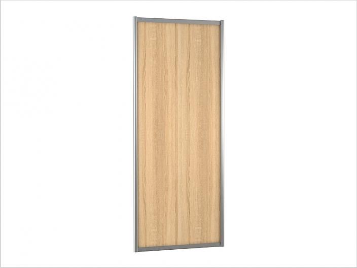 ДК-01-900 дверь шкафа-купе ЛДСП 900х10х2200/2400мм (сонома)