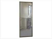 ДК-01-900 дверь шкафа-купе ЗЕРКАЛО 900х10х2200/2400мм