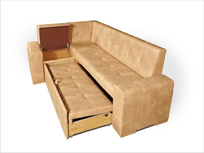 Диван кухонный угловой со спальным местом МАРСЕЛЬ ДМ-16-стандарт (комплект-01)