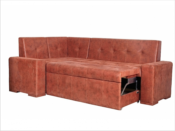Диван кухонный угловой со спальным местом МАРСЕЛЬ ДМ-16-стандарт (комплект-03)