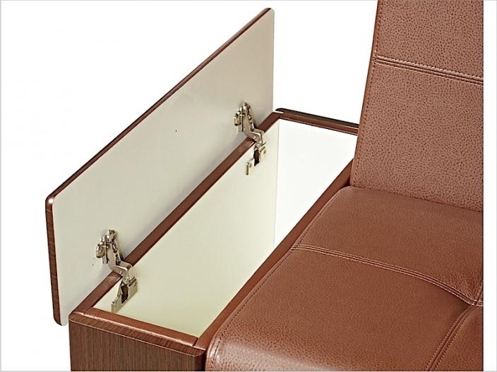 Диван кухонный угловой со спальным местом МАРСЕЛЬ ДМ-16-мдф (комплект-04)