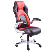 Компьютерное геймерское кресло MaDXRacer 63425WH