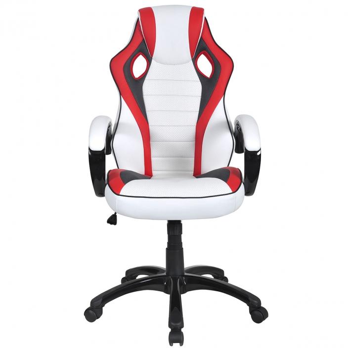 Компьютерное игровое кресло MaDXRacer 42955WH
