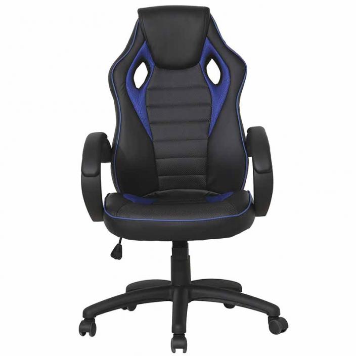 Компьютерное игровое кресло MaDXRacer 52955WH