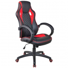 Компьютерное игровое кресло MaDXRacer 62955WH