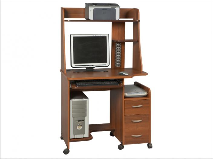 Компьютерный стол с надстройкой КС-06С-06Н