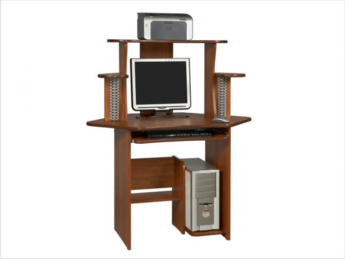 Компьютерный стол с надстройкой КС-11СМ-34НУ