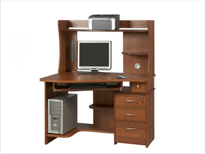 Компьютерный стол с надстройкой КС-33С-28НУ
