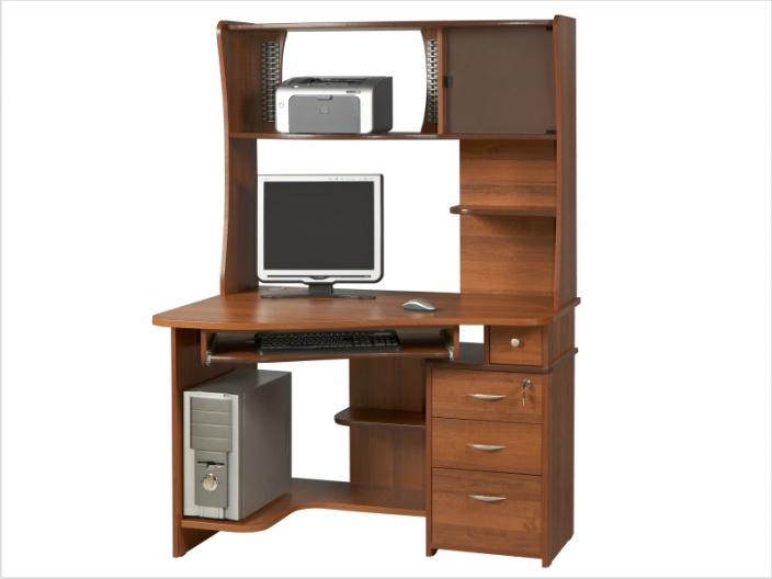 Компьютерный стол с надстройкой КС-33С-33Н