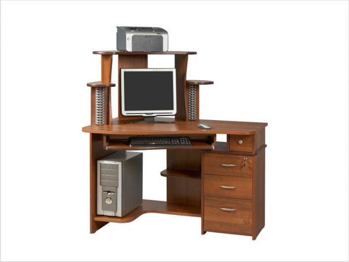 Компьютерный стол с надстройкой КС-33С-34НУ