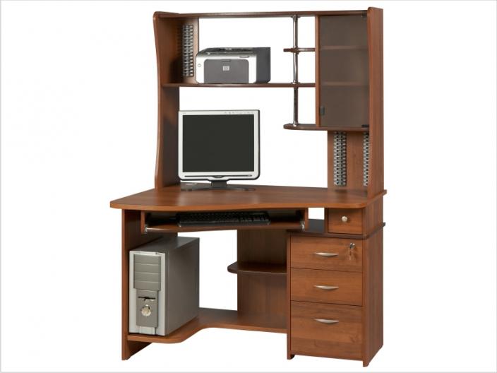 Компьютерный стол с надстройкой КС-33С-36НУ