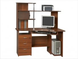 Компьютерный стол с надстройкой КС-34СМ-21НУ