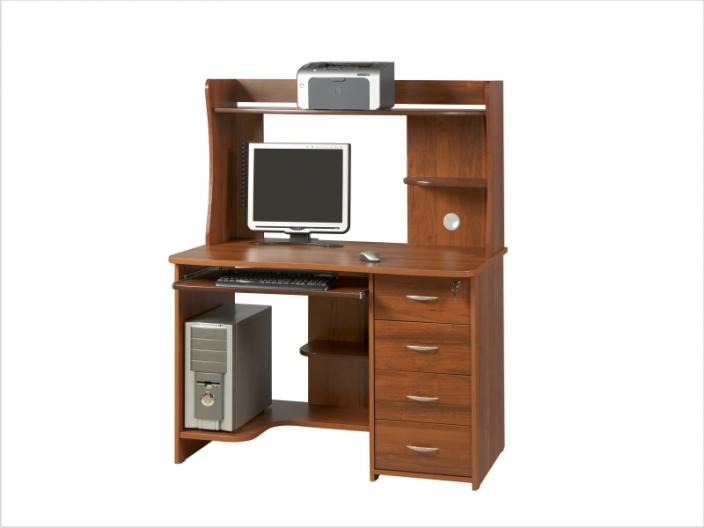 Компьютерный стол с надстройкой КС-36С-28НУ