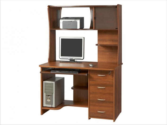 Компьютерный стол с надстройкой КС-36С-33Н
