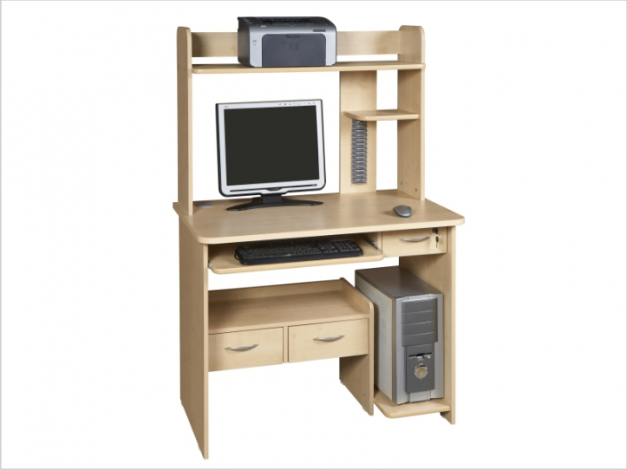 Компьютерный стол с надстройкой КС-39С-39Н