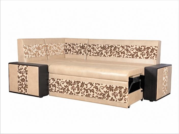 Диван кухонный угловой со спальным местом МИШЕЛЬ ДМ-24-мдф