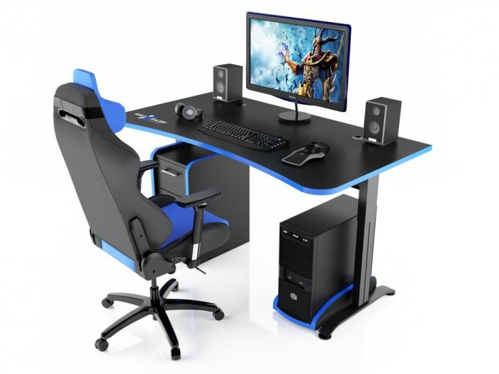 Игровой компьютерный стол MaDXRacer ARENA GTS15/BB