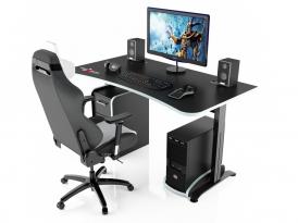 Игровой компьютерный стол MaDXRacer ARENA GTS15/BW