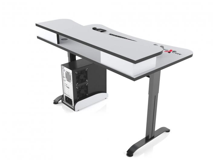 Игровой компьютерный стол MaDXRacer ARENA GTS15N/WHITE-B