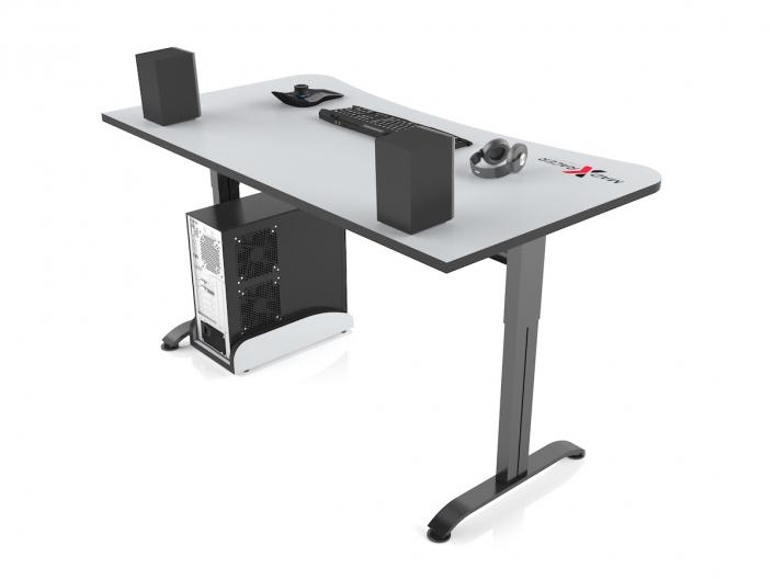 Игровой компьютерный стол MaDXRacer ARENA GTS15/WHITE-B