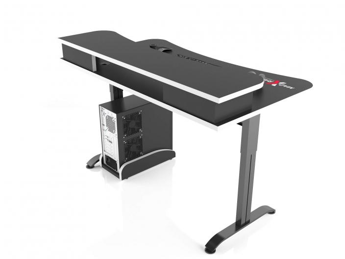 Игровой компьютерный стол MaDXRacer ARENA GTS15N/BW