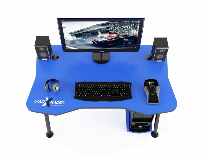Стол геймера MaDXRacer GAMING DESK GTT13/B
