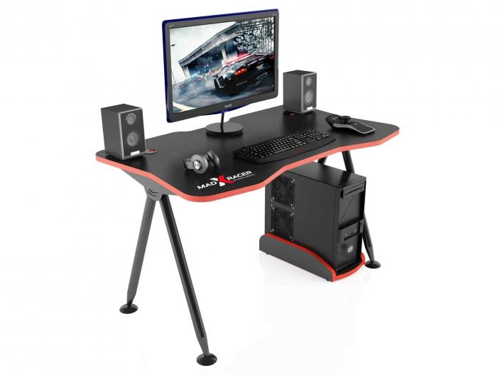 Стол игровой компьютерный MaDXRacer GAMING DESK GTT13/BR
