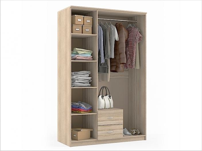Шкаф для одежды ШКС-203 1270х550х1994мм