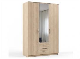 Шкаф для одежды ШКС-203 1270х550х1994мм (с зеркалом)