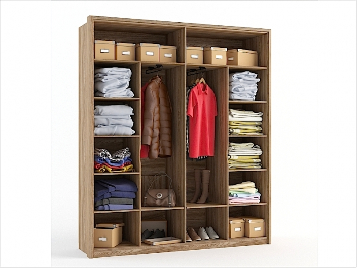Шкаф для одежды СИТИ 2065х580х2385мм