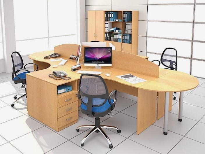 Мебель для персонала ЭКООФИС (комплект-01)