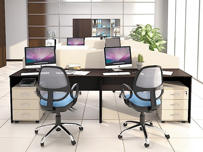Мебель для персонала ЭКООФИС (комплект-04)