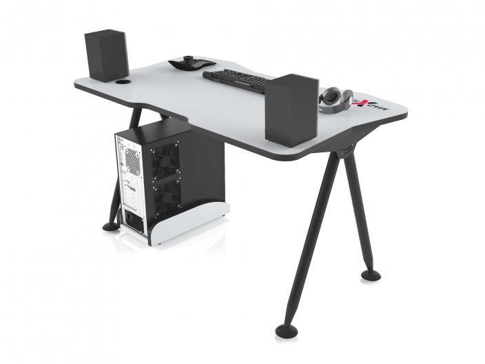 Стол игровой компьютерный MaDXRacer GAMING DESK GTT13/WHITE-B