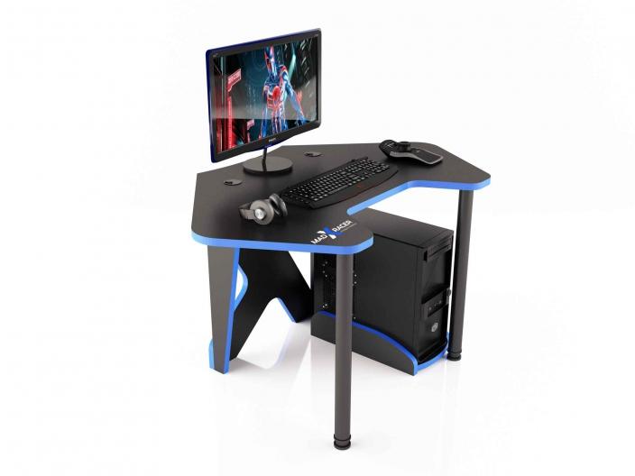 Угловой игровой компьютерный стол MaDXRacer PILOT GTC12/BB