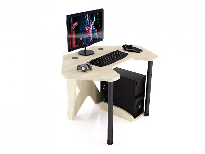 Стол для геймера угловой MaDXRacer PILOT GTC12/SHL
