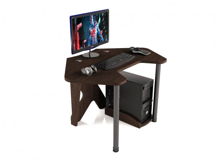 Стол для геймера угловой MaDXRacer PILOT GTC12/VNG