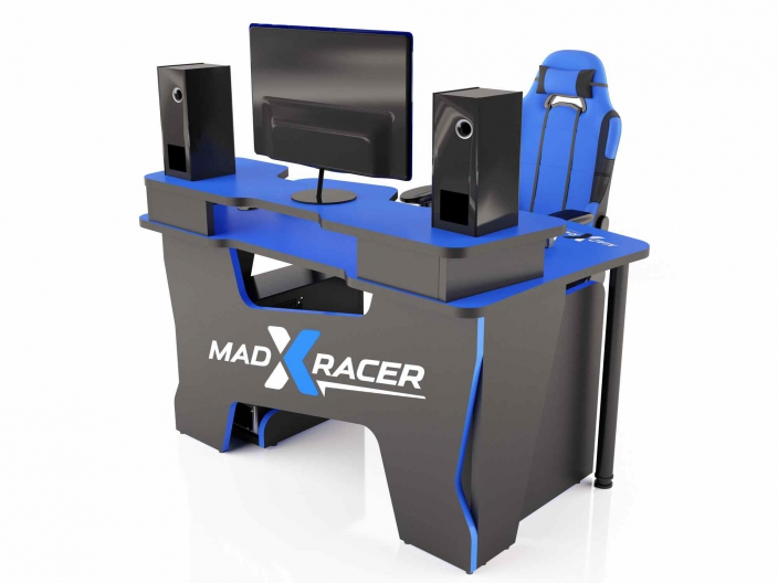 Геймерский компьютерный стол MaDXRacer COMFORT GT14N/B